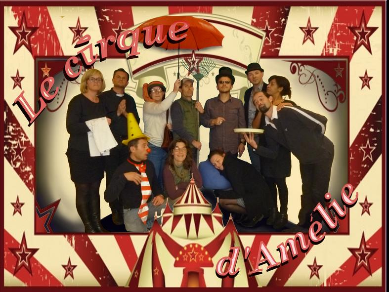 le cirque d amelie 15x20